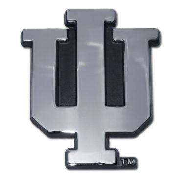 Indiana University Chrome Emblem