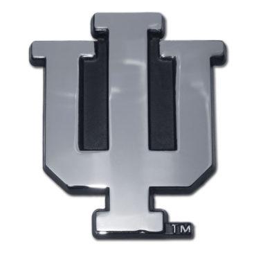 Indiana University Chrome Emblem