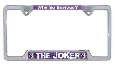 Joker License Open Plate Frame image