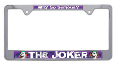 Joker License Plate Frame