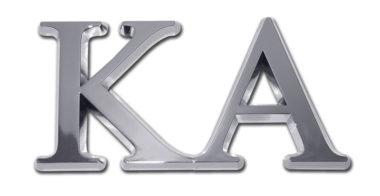 KA Chrome Emblem