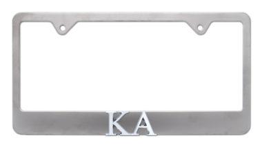 KA Matte License Plate Frame