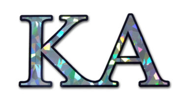 KA Reflective Decal