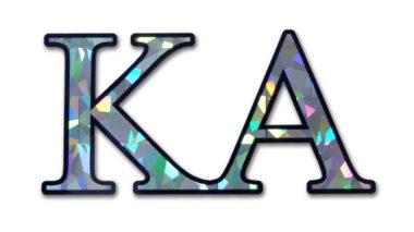 KA Reflective Decal