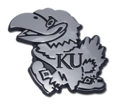 University of Kansas Chrome Emblem
