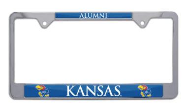 Kansas Alumni License Plate Frame