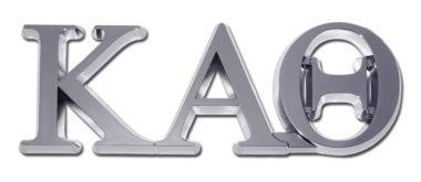 Kappa Alpha Theta Chrome Emblem