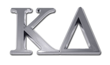 Kappa Delta Chrome Emblem image