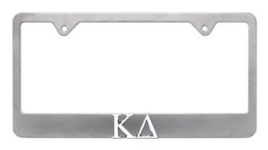Kappa Delta Matte License Plate Frame