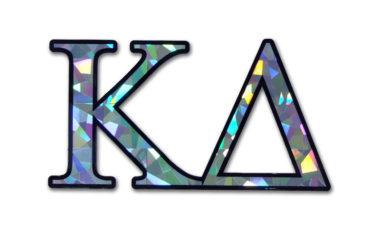 Kappa Delta Reflective Decal  image