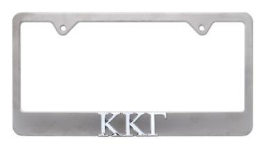 Kappa Kappa Gamma Matte License Plate Frame