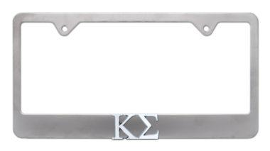 Kappa Sigma Matte License Plate Frame