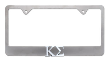 Kappa Sigma Matte License Plate Frame image