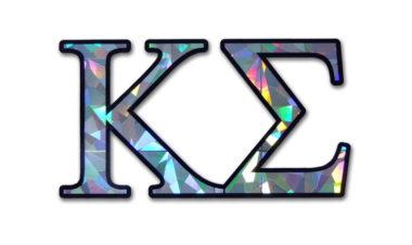 Kappa Sigma Reflective Decal  image