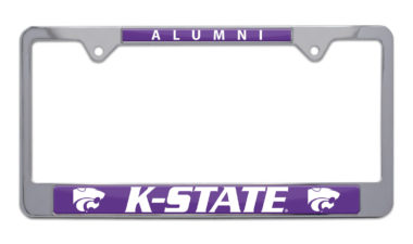 Kansas State Alumni License Plate Frame