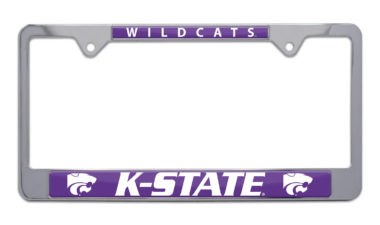 Kansas State Wildcats License Plate Frame image