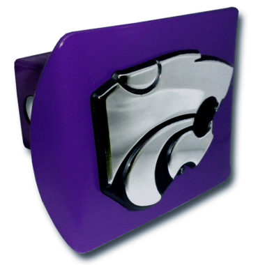 Kansas State Emblem on Purple Hitch Cover