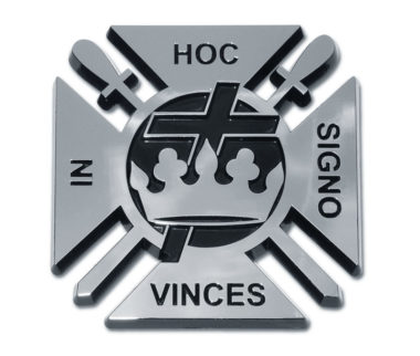 Knights Templar Chrome Emblem