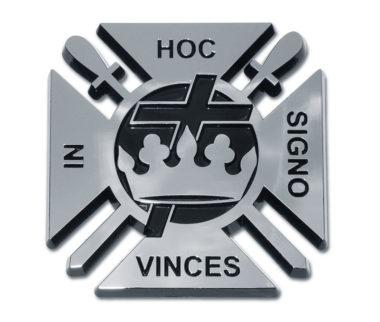 Knights Templar Chrome Emblem image