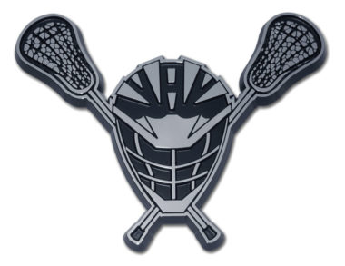 Lacrosse Chrome Emblem