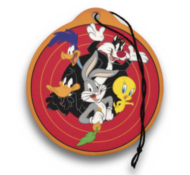 Looney Tunes Air Freshener  6 Pack - New Car Scent