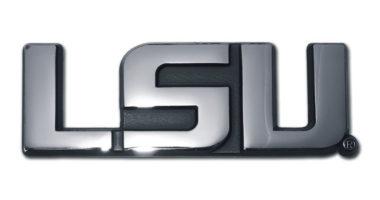 LSU Chrome Emblem
