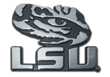 LSU Tiger Eye Chrome Emblem