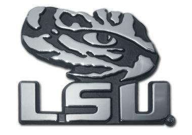 LSU Tiger Eye Chrome Emblem