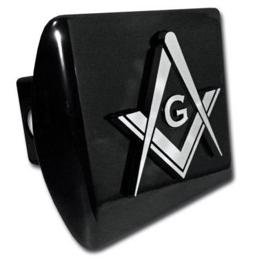 Masonic Black Hitch Cover image