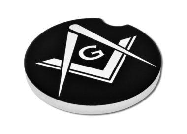 Mason Car Coaster - 2 Pack image