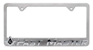Masonic Past Master License Plate Frame