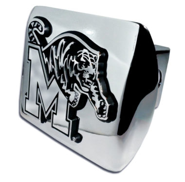 University of Memphis Chrome Hitch Cover