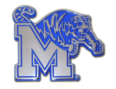 University of Memphis Blue Chrome Emblem