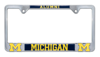 University of Michigan Alumni 3D License Plate Frame