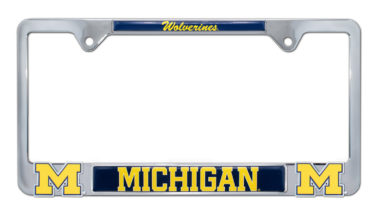 University of Michigan Wolverines 3D License Plate Frame