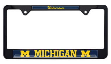 University of Michigan Wolverines License Plate Frame