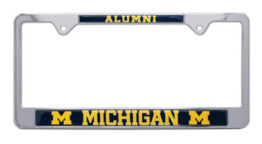 University of Michigan Alumni License Plate Frame