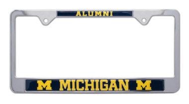 University of Michigan Alumni License Plate Frame