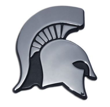 Michigan State Chrome Emblem