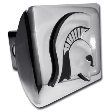 Michigan State Emblem on Chrome Hitch Cover
