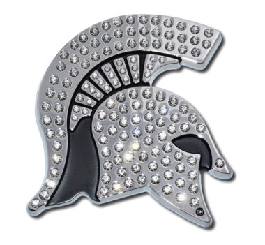 Michigan State Crystal Chrome Emblem image
