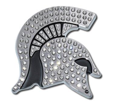 Michigan State Crystal Chrome Emblem