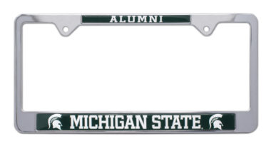 Michigan State Alumni License Plate Frame