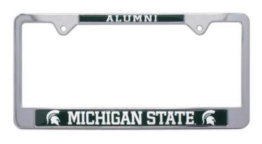 Michigan State Alumni License Plate Frame image