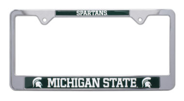 Michigan State Spartans License Plate Frame image
