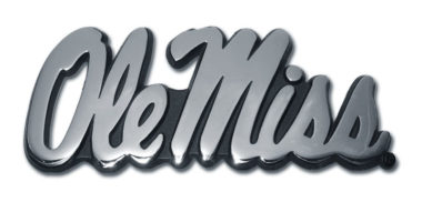 Ole Miss Chrome Emblem image