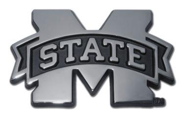 Mississippi State Chrome Emblem