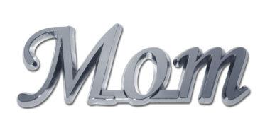 Mom Shiny Chrome Emblem