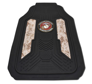Marines Desert Camo Floor Mats - 2 Pack image