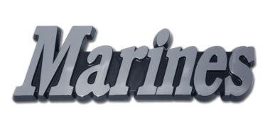 Marines Chrome Emblem